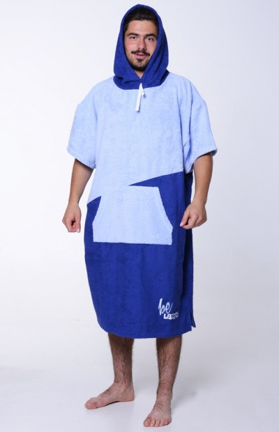 Lazzzy ® PONCHO duo blue