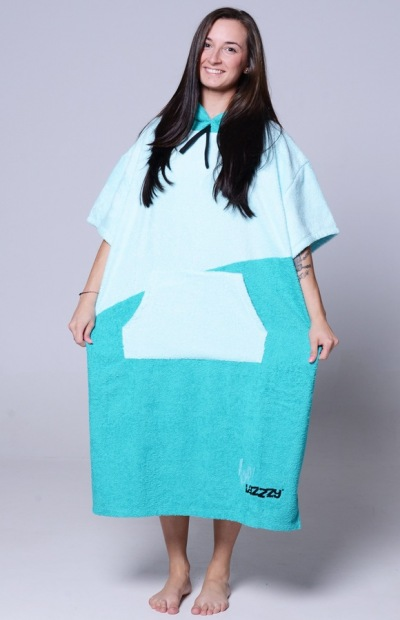 Lazzzy ® PONCHO duo emerald