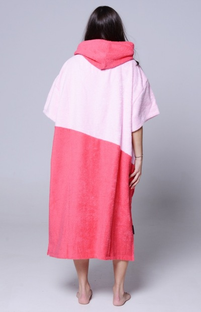 Lazzzy ® PONCHO duo pink