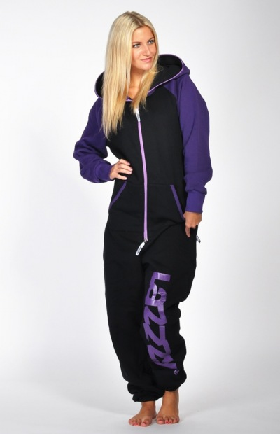 Lazzzy ® DUO black / purple