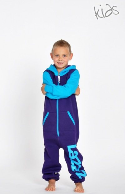 Lazzzy KIDS ® DUO  purple / torquoise